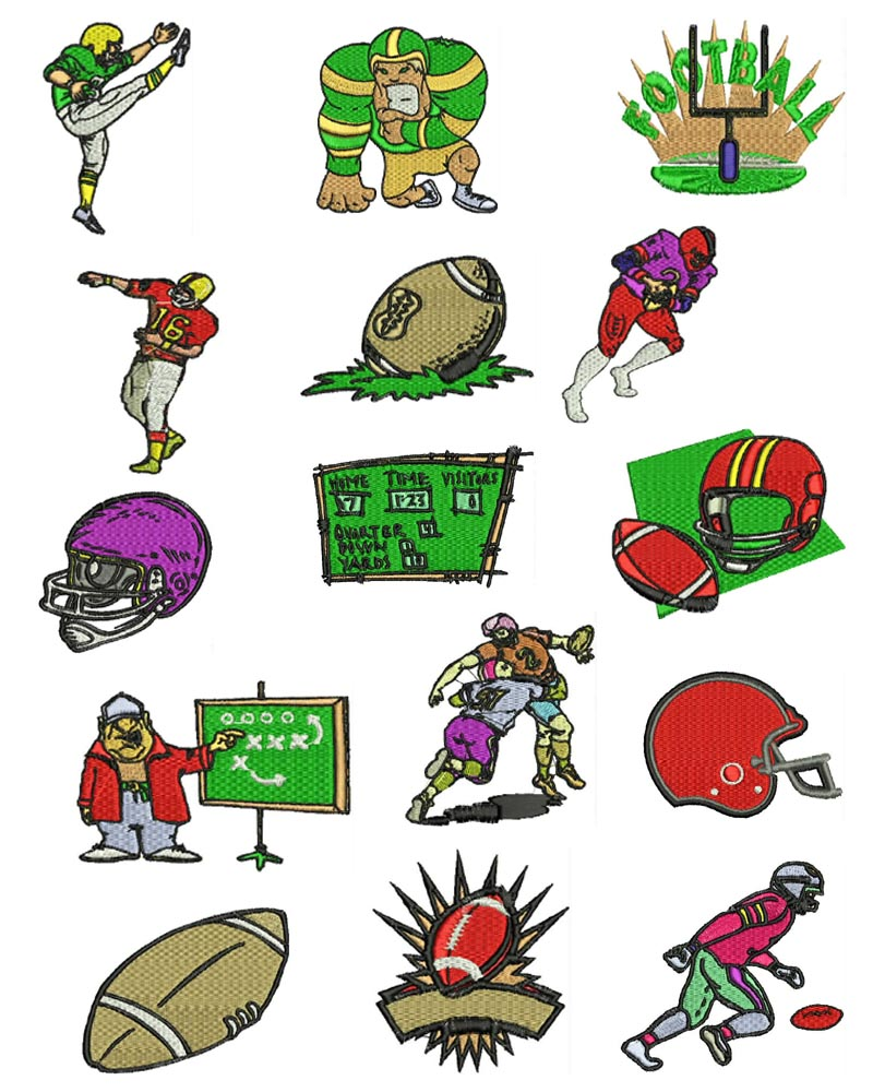 Super sport machine embroidery designs sets brother