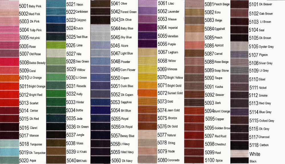 Embroidery Floss Conversion Chart Color Number Chart Coats